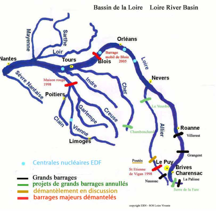 Tours As Base For Loire
